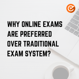 Why online exams?
